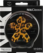 Düfte, Parfümerie und Kosmetik Auto-Lufterfrischer Vanille und Patschuli - Mr&Mrs Niki Vanilla & Patchouly Brown Fantasy Animalier