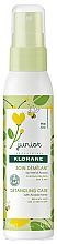 Düfte, Parfümerie und Kosmetik Entwirrendes Haarspray mit Akazienhonig - KloraneJunior Detangling Care Spray Acacia Honey