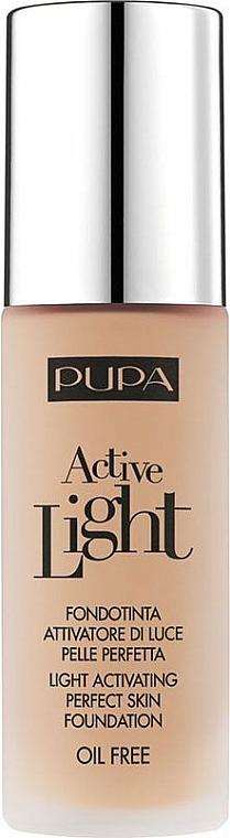 Flüssige Foundation mit Active Light-Technologie und LSF 10 - Pupa Active Light SPF10