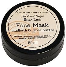 Düfte, Parfümerie und Kosmetik Gesichtsmaske mit Sheabutter und Schlamm - The Secret Soap Store Shea Line Mudbath & Shea Butter Mask