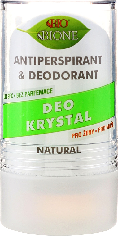 Deo Roll-on Kristall-Antitranspirant - Bione Cosmetics Deo Krystal Antiperspirant&Deodorant