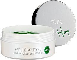 Düfte, Parfümerie und Kosmetik Hydrogel-Augenpatches mit Hanfsamenöl - PURE Mellow Eyes Patches