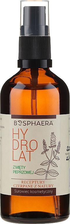 Entspannendes Gesichtshydrolat mit Pfefferminze - Bosphaera Hydrolat