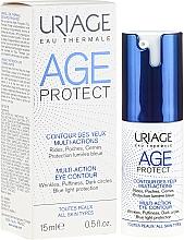 Düfte, Parfümerie und Kosmetik Anti-Falten Augenserum gegen Schwellungen und dunkle Ringe - Uriage Age Protect Multi-Action Eye Contour