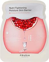 Düfte, Parfümerie und Kosmetik Feuchtigkeitsspendende und nährende Tuchmaske mit Granatapfelextrakt - Frudia Nutri-Moisturizing Pomegranate Mask