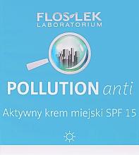 Düfte, Parfümerie und Kosmetik Aktive Tagescreme für das Gesicht gegen Umweltverschmutzungen SPF 15 - Floslek Pollution Anti Active City Cream SPF 15
