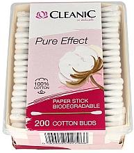 Düfte, Parfümerie und Kosmetik Wattestäbchen 200 St. - Cleanic Pure Effect