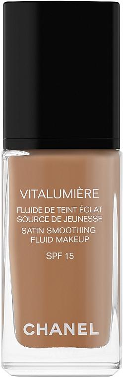 Sanfte Foundation für ein strahlendes Aussehen LSF 15 - Chanel Vitalumiere Fluide De Teint Eclat SPF 15