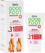 Düfte, Parfümerie und Kosmetik Feuchtigkeitsspendendes Serum und Fußregeneration - Delia Good Foot
