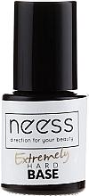 Düfte, Parfümerie und Kosmetik Base für Nagellack durchsichtig - Neess Extremely Hard Base
