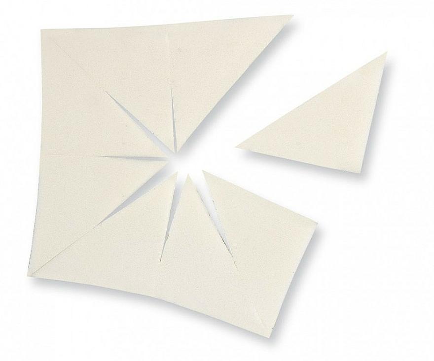 Dreieckige Schminkschwämme aus Latex - Make Up Factory Sponge — Bild N1