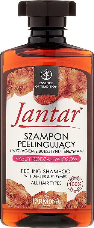 Peeling-Shampoo mit Bernsteinextrakt und Enzymen - Farmona Jantar Peeling Shampoo