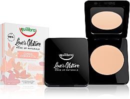 Düfte, Parfümerie und Kosmetik Kompaktpuder für das Gesicht - Equilibra Love's Nature Compact Face Powder