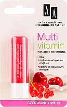 Schützender Lippenbalsam mit roten Früchten - AA Multi Vitamin Protective Lipstick — Bild N1