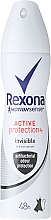 Düfte, Parfümerie und Kosmetik Deospray Antitranspirant - Rexona Motionsense Active Protection+ Invisible
