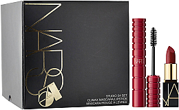 Düfte, Parfümerie und Kosmetik Make-up Set - Nars Studio 54 Set (Mascara 6ml + Lippenstift 1.6g)