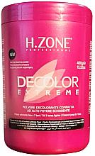 Düfte, Parfümerie und Kosmetik Aufhellendes Haarpulver - H.Zone Decolor Extreme
