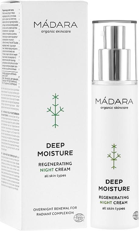 Regenerierende Nachtcreme für das Gesicht - Madara Cosmetics EcoFace