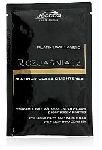 Düfte, Parfümerie und Kosmetik Staubfreies Haarbleichmittel - Joanna Professional Platinum Classic Lightener (sashet)