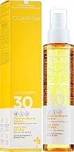 Düfte, Parfümerie und Kosmetik Sonnenschutzspray für Körper und Haare LSF 30 - Clarins Huile-en-Brume Solaire SPF 30