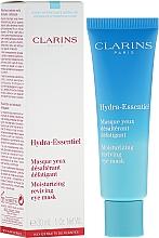 Düfte, Parfümerie und Kosmetik Feuchtigkeitsspendende Maske für die Augenpartie - Clarins Hydra-Essentiel Moisturizing Reviving Eye Mask