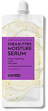 Düfte, Parfümerie und Kosmetik Feuchtigkeitsspendendes Gesichtsserum mit Sheabutter - SNP Mini Shea Butter Moisture Serum (Mini)