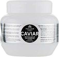 Düfte, Parfümerie und Kosmetik Revitalisierende Haarkur mit Kaviarextrakt - Kallos Cosmetics Anti-Age Hair Mask