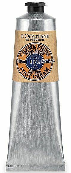 Fußcreme mit Sheabutter - L'Occitane Shea Butter Foot Cream