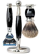 Düfte, Parfümerie und Kosmetik Rasierset - Taylor of Old Bond Street Fusion (Rasierer 1 St. + Rasierpinsel 1 St. + Ständer 1 St.)