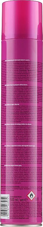 Haarlack für gefärbtes Haar - Schwarzkopf Professional Silhouette Color Brilliance Hairspray  — Bild N4