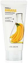 Düfte, Parfümerie und Kosmetik Gesichtsreinigungsschaum mit Bananenextrakt - It's Skin Have a Banana Cleansing Foam