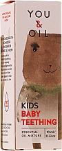 Düfte, Parfümerie und Kosmetik Ätherische Ölmischung für Babys zur Bekämpfung von Schmerzen beim Zahnkeim - You & Oil KI Kids-Baby Teething Essential Oil Mixture For Kids