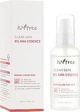 Düfte, Parfümerie und Kosmetik Gesichtsessenz mit 8% AHA-Säuren für normale bis trockene Haut - IsNtree Clear Skin 8% Aha Essence