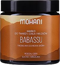 Düfte, Parfümerie und Kosmetik Babassubutter für Gesicht und Körper - Mohani Babassu Rich Batter