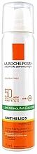Düfte, Parfümerie und Kosmetik Transparentes Sonnenschutzspray für das Gesicht mit Anti-Glanz-Effekt SPF 50+ - La Roche-Posay Anthelios Spray SPF50+