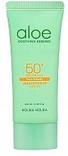 Düfte, Parfümerie und Kosmetik Sonnenschutzgel mit Aloe SPF 50+ - Holika Holika Aloe Waterproof Sun Gel