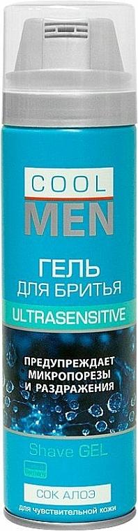 Rasiergel - Cool Men Ultrasensitive