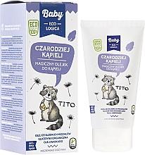 Düfte, Parfümerie und Kosmetik Magisches Badeöl für Babys mit Avocadoöl, Bio Glycerin und Süßmandelöl - Baby EcoLogica Bath Oil