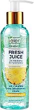 Düfte, Parfümerie und Kosmetik Mizellen-Gesichtswaschgel mit Ananas - Bielenda Fresh Juice Micellar Gel Pineapple
