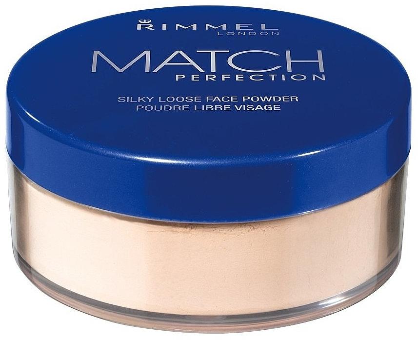 Loser Seidenpuder - Rimmel Match Perfection Silky Loose Powder