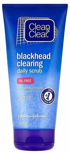 Gesichtspeeling - Clean & Clear Blackhead Clearing Daily Scrub