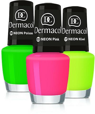 Nagellack - Dermacol Neon Nail Polish
