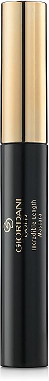 Mascara für mehr Volumen mit Verlängerungseffekt und Wimperntrennung - Oriflame Giordani Gold Incredible Lenght Mascara