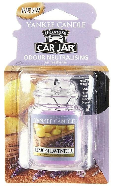 Auto-Lufterfrischer Lemon Lavender - Yankee Candle Lemon Lavender Jar Ultimate