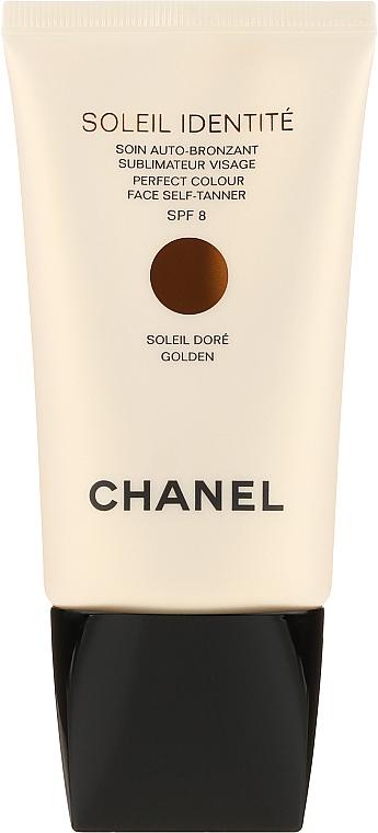 Pflegender Selbstbräuner für das Gesicht SPF 8 - Chanel Soleil Identite SPF 8 Dore Golden — Bild N2