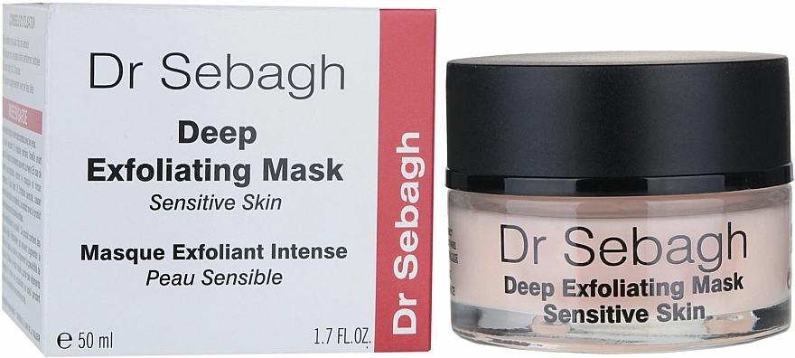 Tiefenpeeling Maske für empfindliche Haut - Dr Sebagh Deep Exfoliating Mask