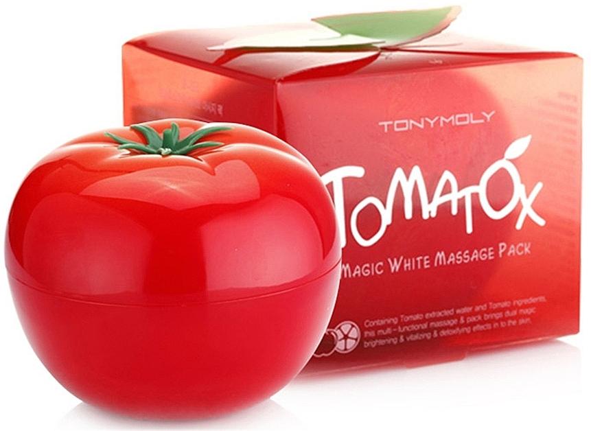 Massage-Gesichtsmaske mit Tomatenextrakt - Tony Moly Tomatox Magic White Massage Pack