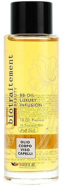 Luxuriöses BB Öl für Körper, Gesicht und Haar - Brelil Biotraitement Hair BB Oil