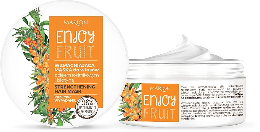 Früchtige Haarmaske für mehr Kraft - Marion Enjoy Fruit Strengthening Hair Mask
