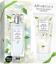 Düfte, Parfümerie und Kosmetik Allvernum Lily Of The Valley & Jasmine - Duftset (Eau de Parfum 50ml + Körperbalsam 200ml)